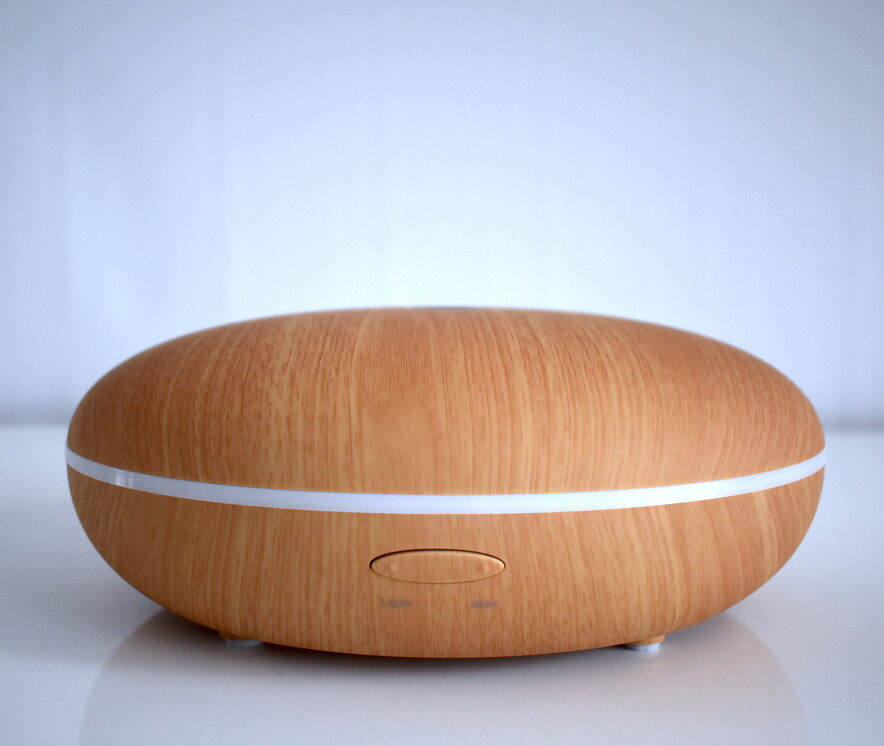 Ultrasonic Essential Oil Diffuser - Pebble NZ